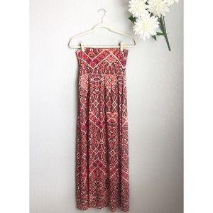 Cynthia Rowley Pink Maxi Skirt